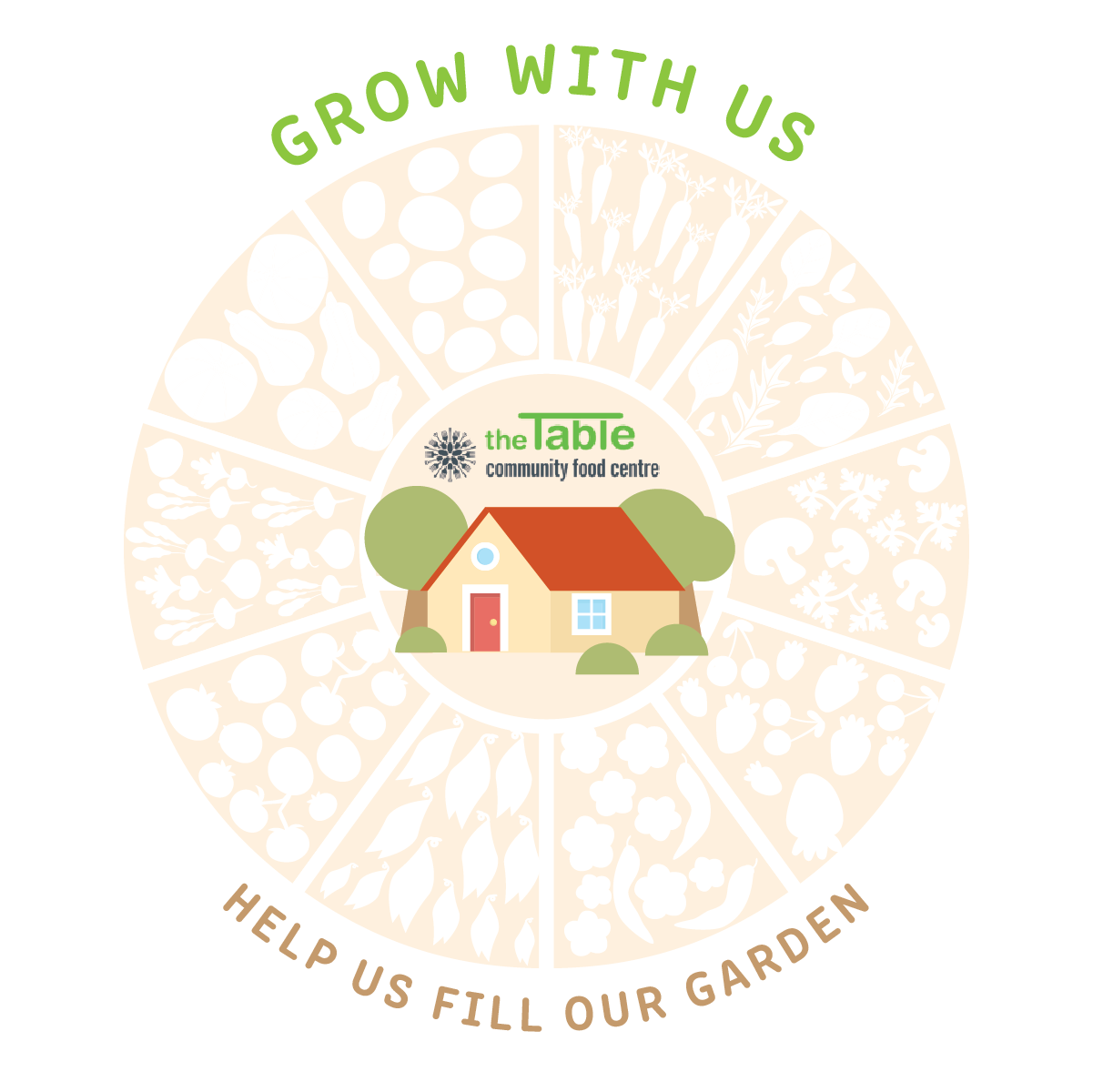 Grow With Us!  Help Us Fill Our Gardens