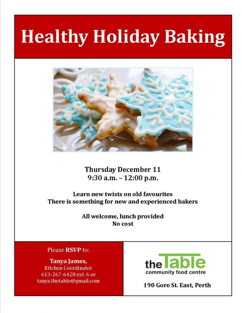 Healthy Holiday Baking