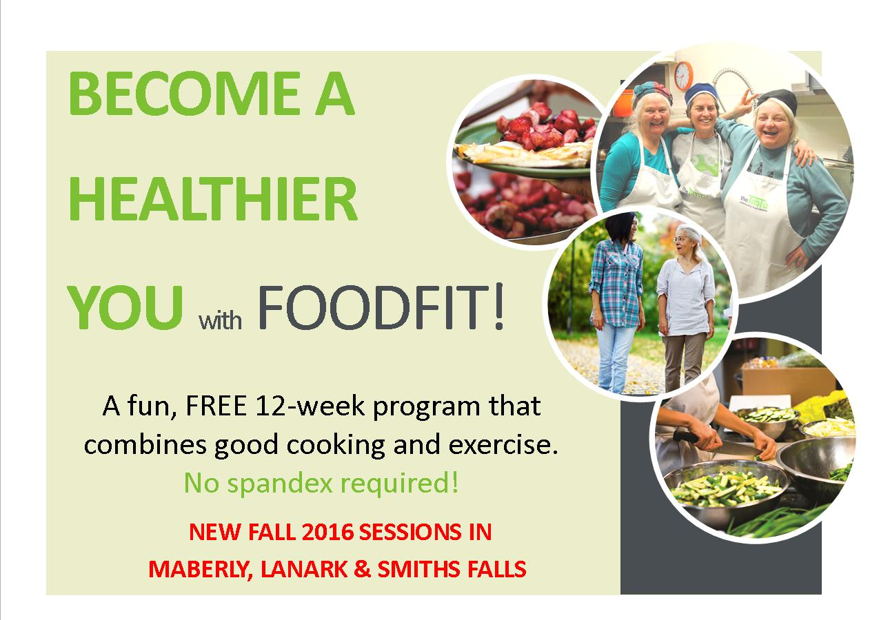 Food Fit is a fun and free cooking and fitness program